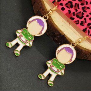 Betsey Johnson Earrings Toy Story Buzz Light Year